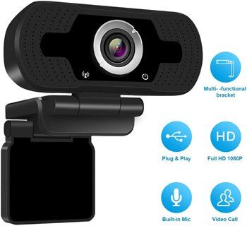 Webcam Full HD 1080p